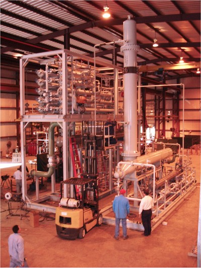 Complete Refinery System Assembly