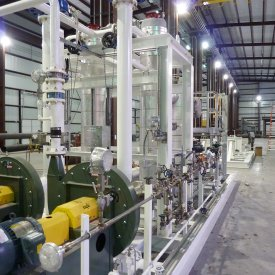 Complete Aqueous Ammonia Vaporization System