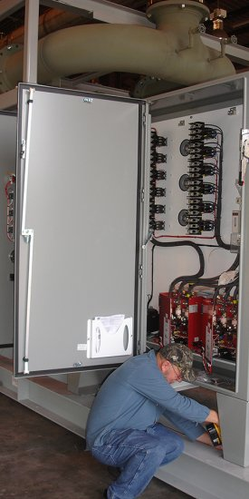 Flue Gas Superheater Control Panel